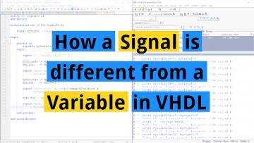 Signal vs Variable
