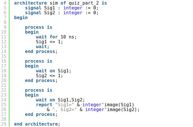 Basic VHDL Quiz - part 2 - VHDLwhiz