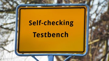 How to create a self-checking testbench