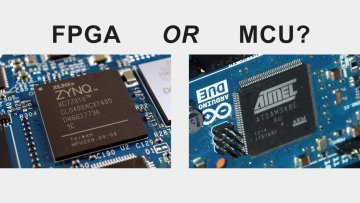 FPGA or Microcontroller