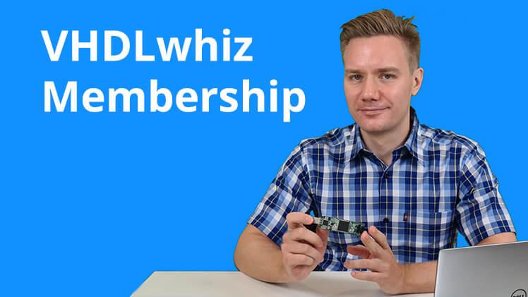 VHDLwhiz Membership